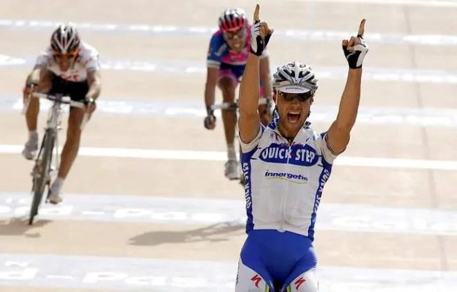 Paris-Roubaix 2008, winner: Tom Boonen