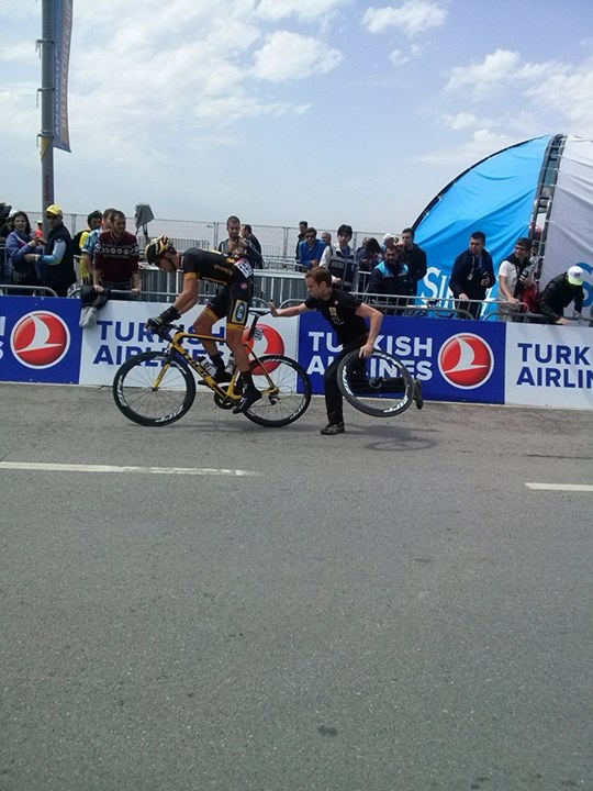 Tour of Turkey 2014 stage 8, Istanbul-a flat