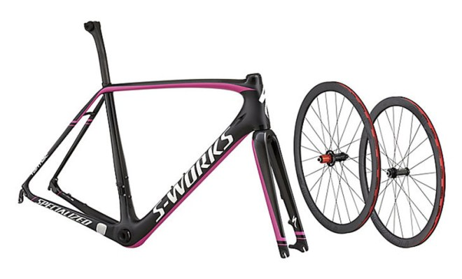 Specialized S-Works Tarmac 2015 Disc Module (Carbon/Black/Magenta)