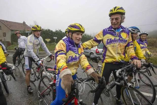 Robert Marchand's 103rd birthday ride