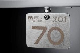 Eddy70 bike - number plate