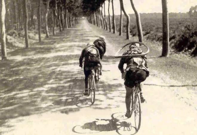 Léon Scieur at the 1921 Tour de France