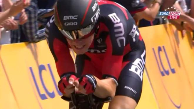 Rohan Dennis breaks the Tour de France Time Trial speed record