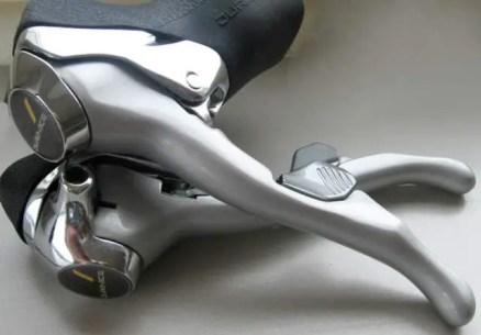 Shimano Dura-Ace 7400 dual control levers