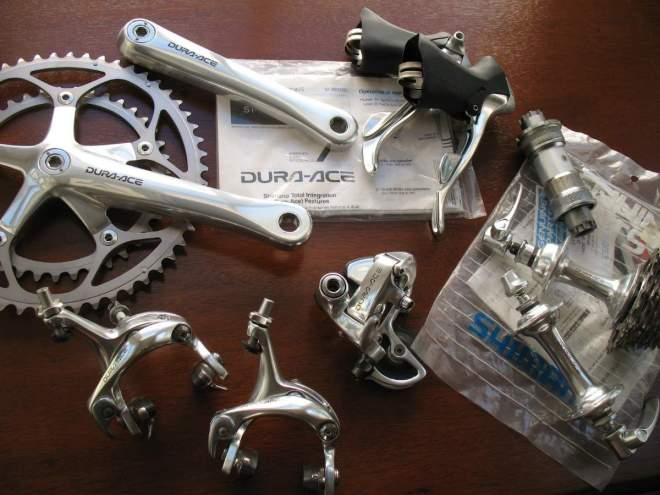 Dura-Ace history: Dura-Ace 7700 group