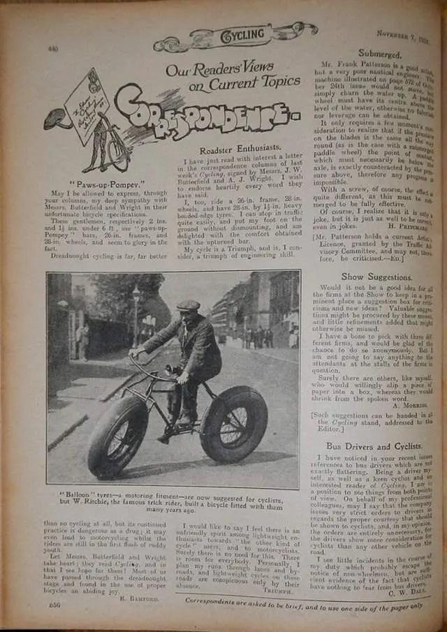 Cycling, November 1924
