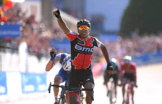 Greg Van Avermaet wins Paris Roubaix 2017
