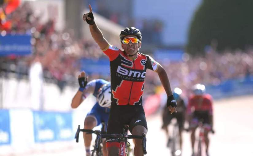 Greg Van Avermaet wins Paris-Roubaix with a record average speed