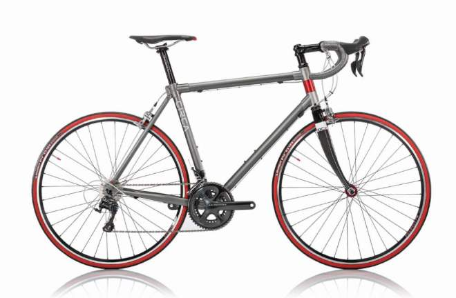 Circa Gray-Red Road Bike