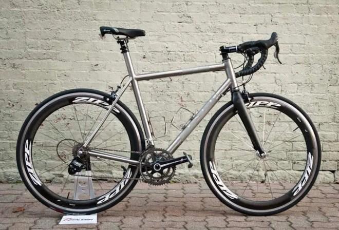 Cysco Titanium Road Bike
