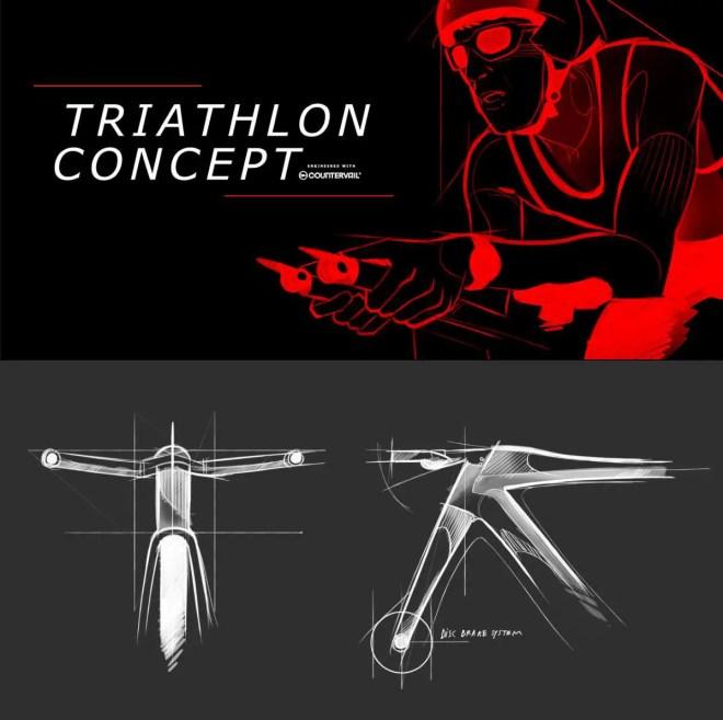 Bianchi-Ferrari Triathlon Concept Bike announcement