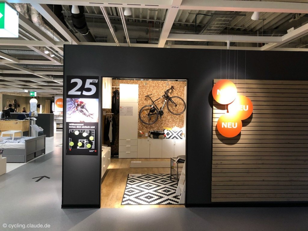 IKEA Wandhalterung Fahrrad