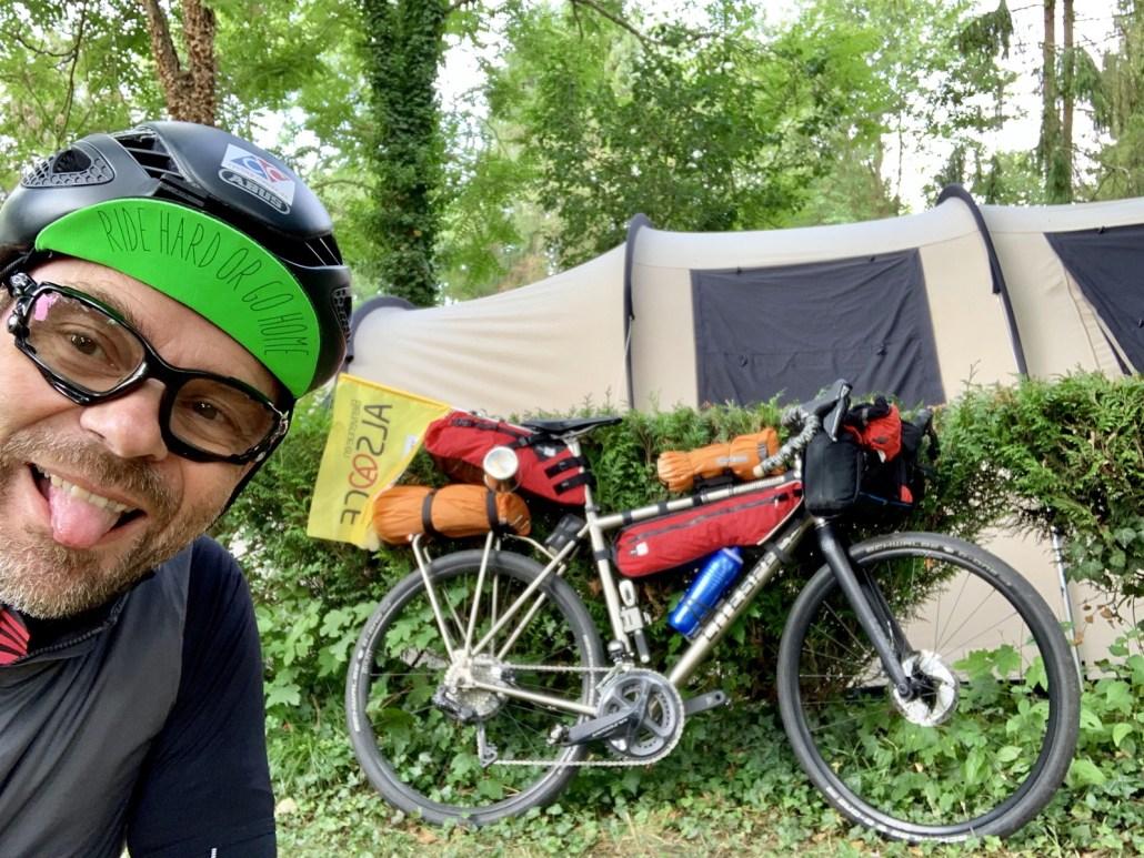 Sauf Cyclistes Bikepacking Overnighter