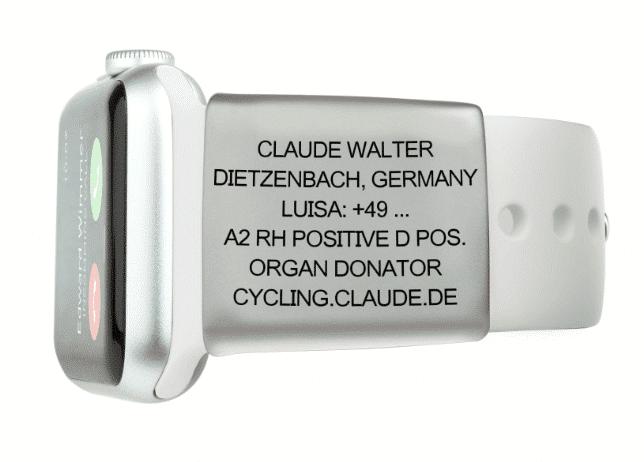 Road-ID Apple Watch