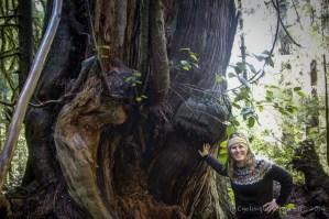 Me & tree