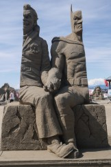 the winning Sandsculpture