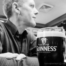 Bye Lars & Guinness!