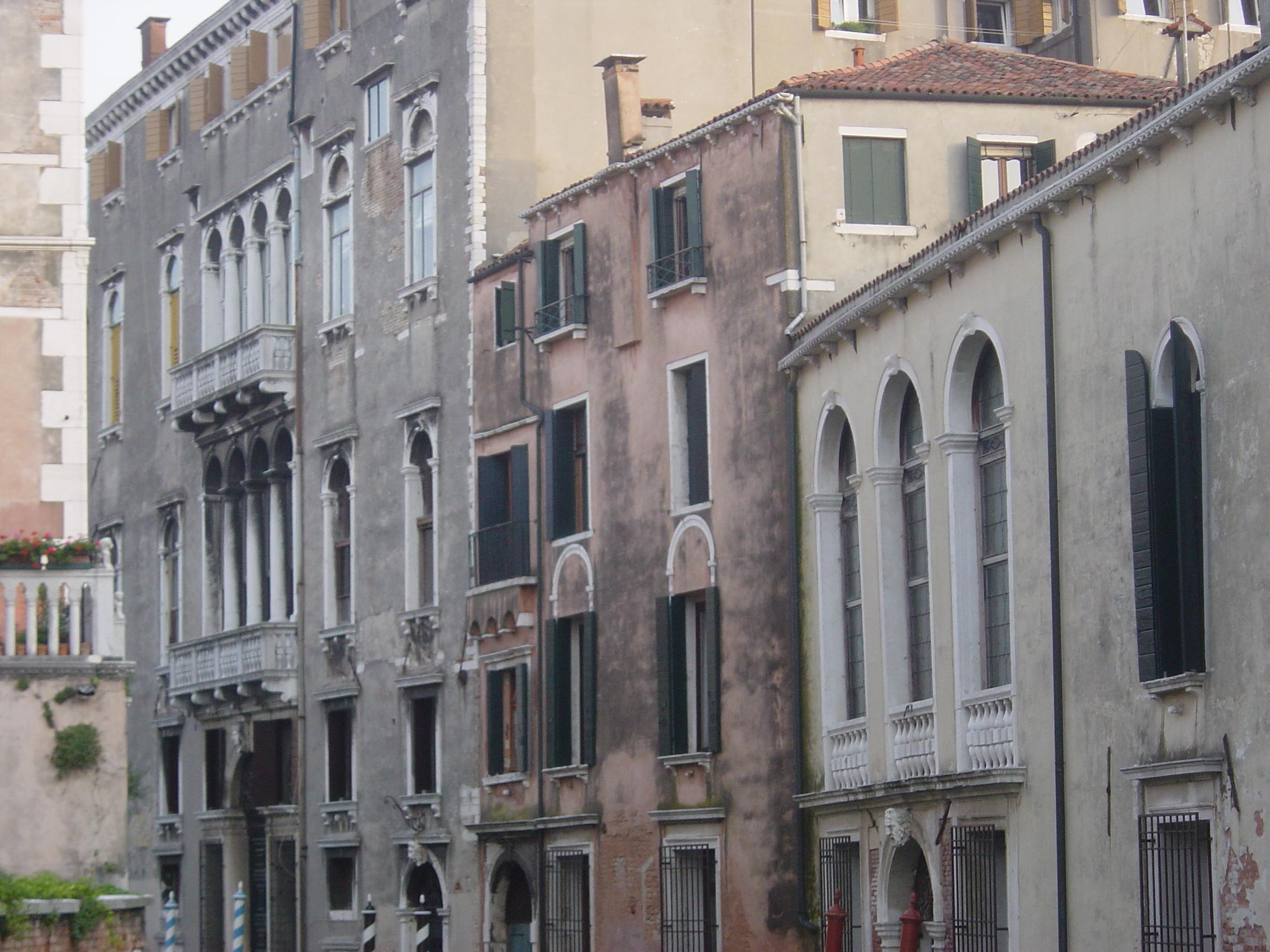 Venice old buildings