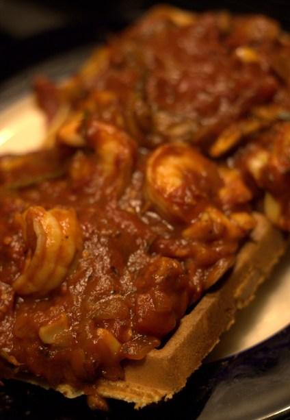 Shrimp & Waffle