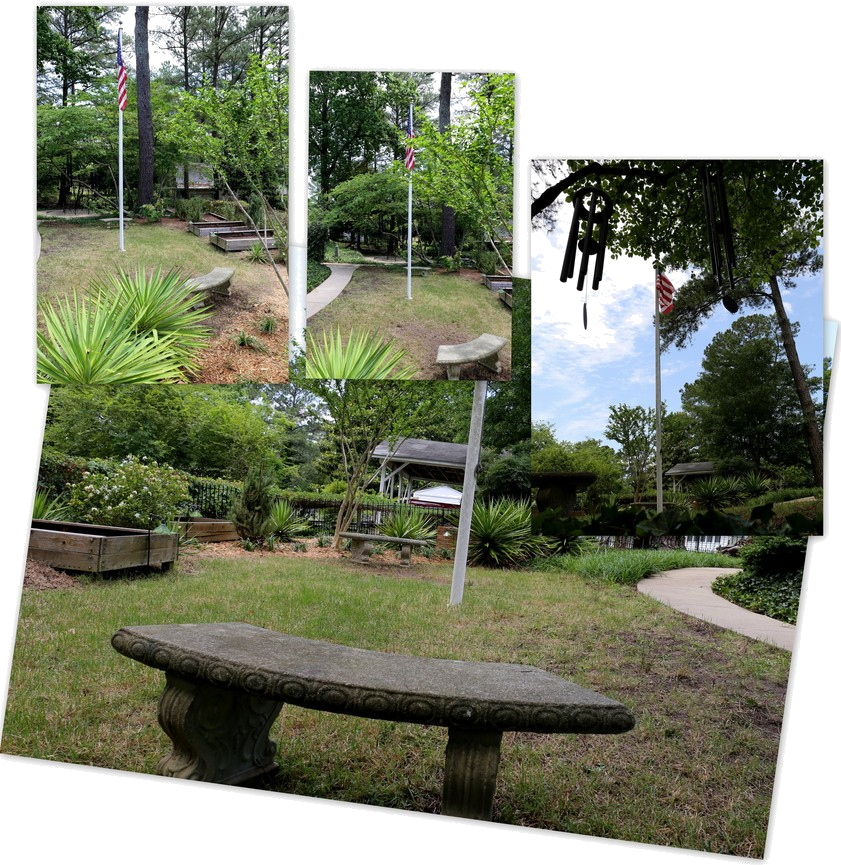 Home ~ Backyard ~ Landscape–Benches, 05/28