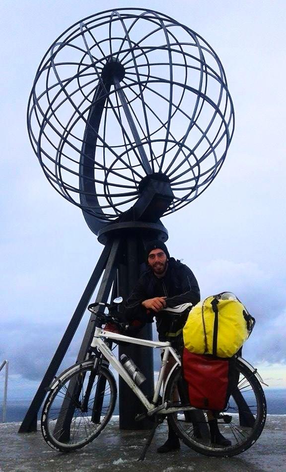 Capo Nord: il viaggio di Luca in bicicletta
