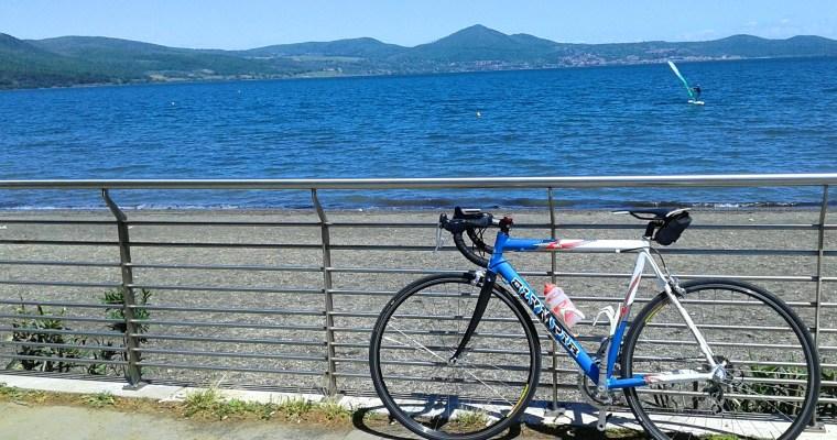 Bracciano: il giro del lago in bicicletta