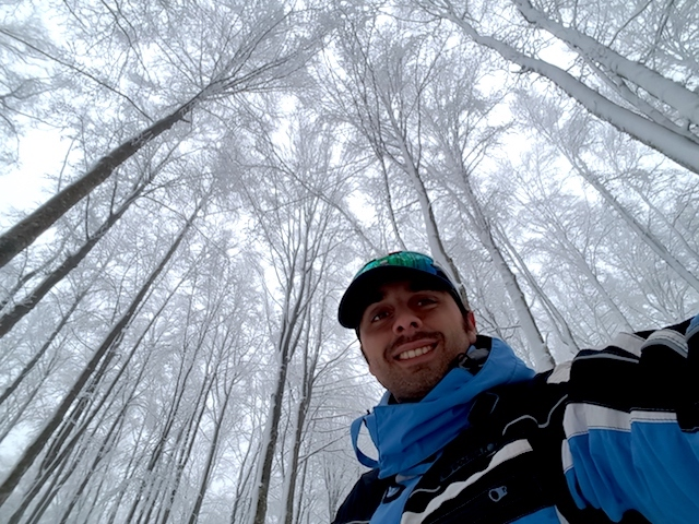 Ciaspolando: escursione invernale sul Monte Amiata