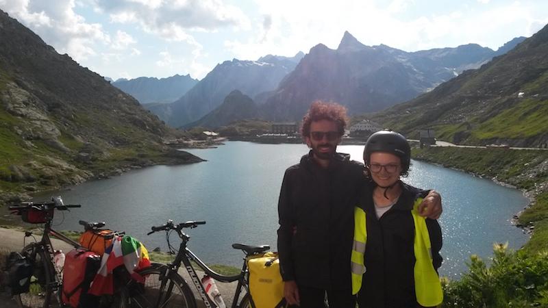Il viaggio in bicicletta di Fabio: 3200 chilometri sulle strade dell'Europa