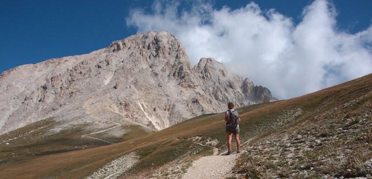 Gran Sasso d'Italia: sentieri per raggiungere il Corno Grande a piedi