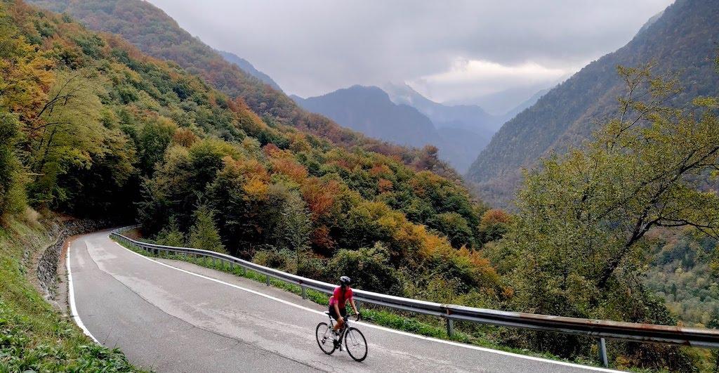 Sella Chianzutan e Val d'Arzino in bicicletta: la salita da Casiacco (PN)