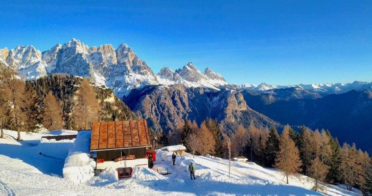 Capodanno al rifugio Antelao: il trekking da Pozzale di Cadore (BL)