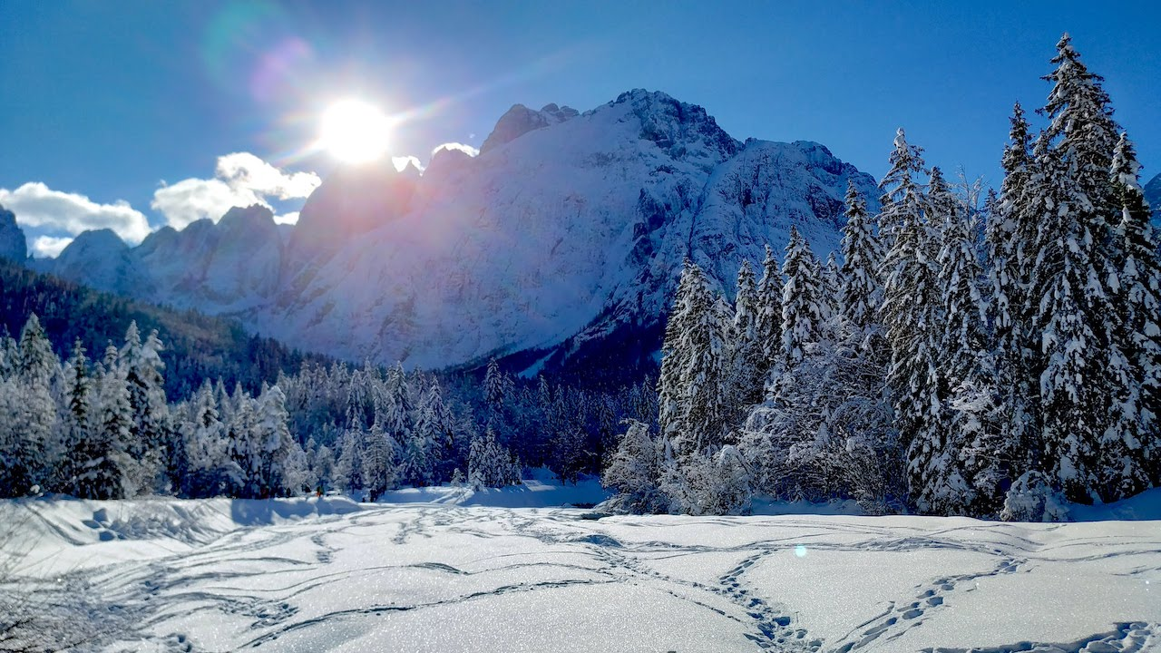 Trekking invernale in Val Saisera: la nostra esperienza