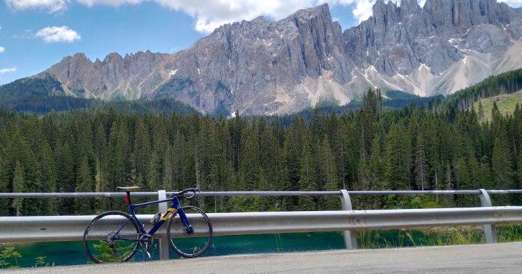 Passo di Costalunga in bicicletta: i versanti di Vigo di Fassa (TN) e Ponte Nova (BZ)