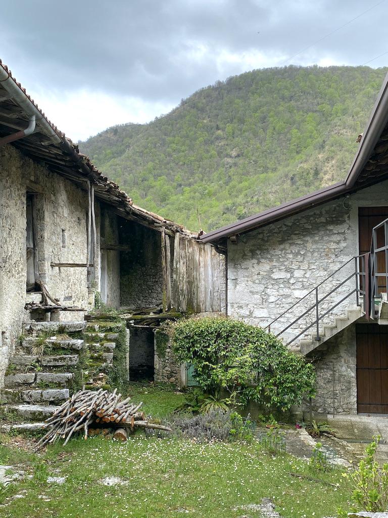 Paese abbandonato della Val Tramontina