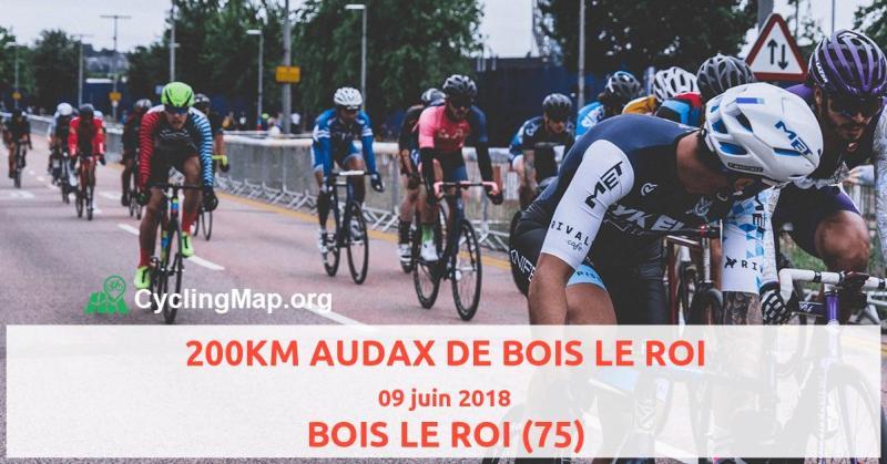 """Résultat de recherche d'images pour """"audax 200 bois le roi"""""""