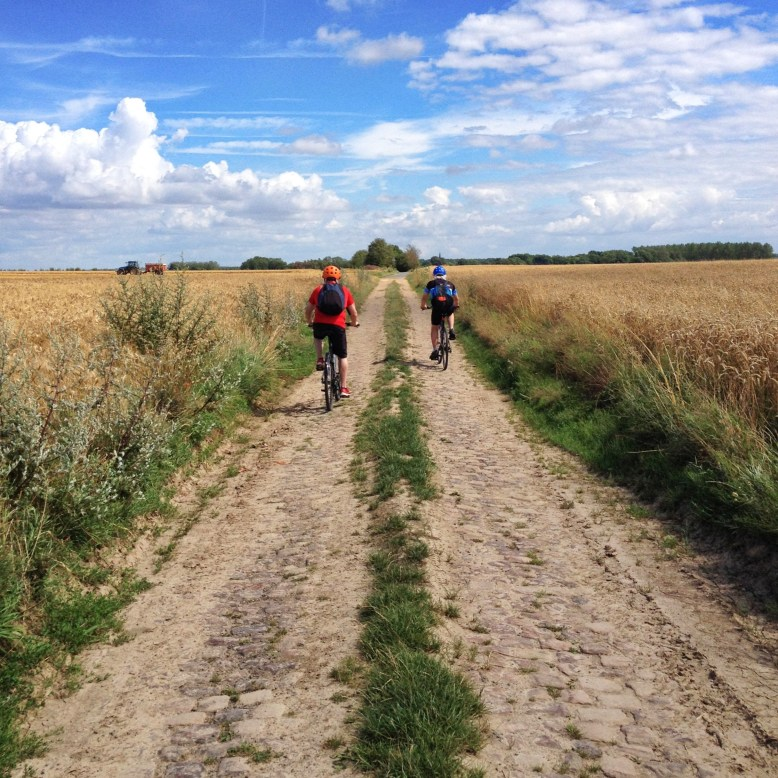 From the Drocourt Queant Line to Cagnicourt via the cobbles