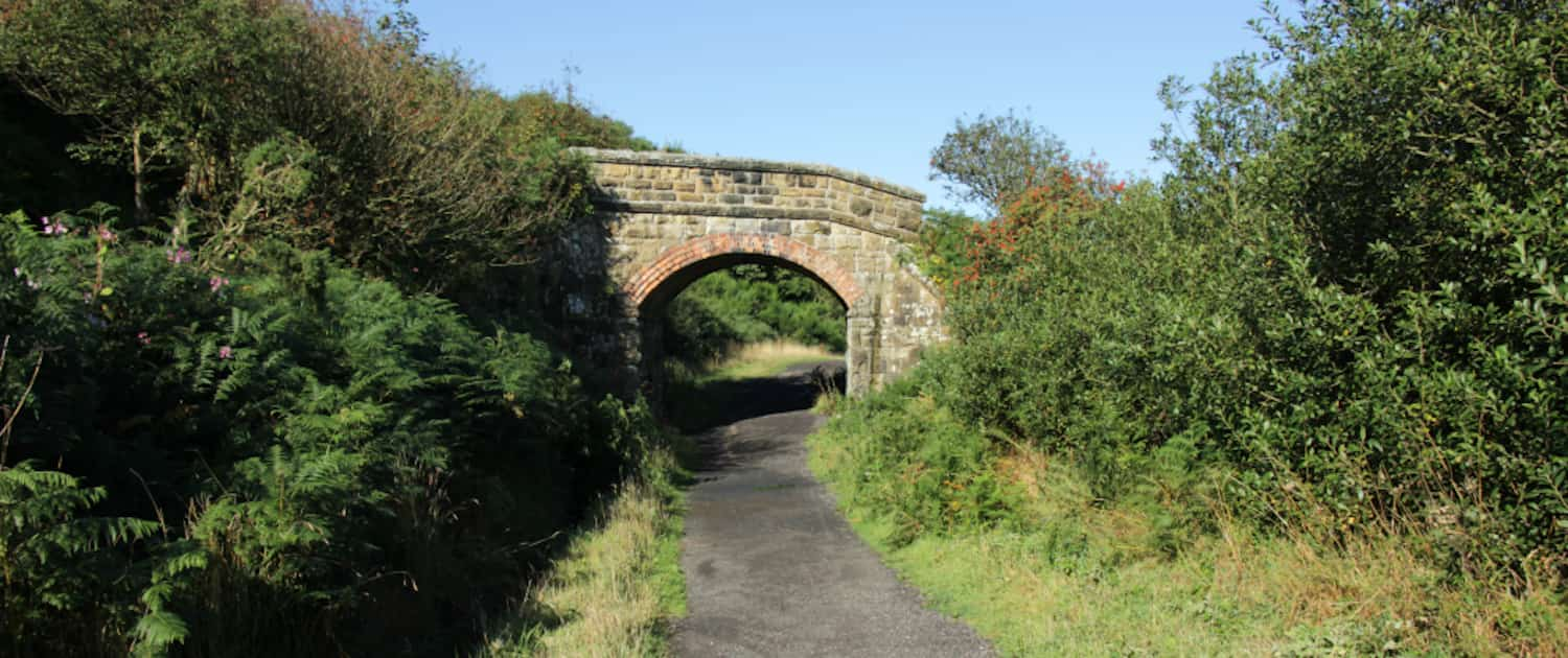 The Cinder Track - Scarborough to Whitby Railway Path
