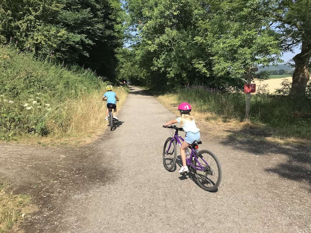 Cycling With Kids - Traffic-Free Cycle Routes