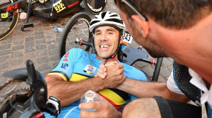 Jean-François Deberg - Champion du monde Paracyclisme - Belgium Paralympics
