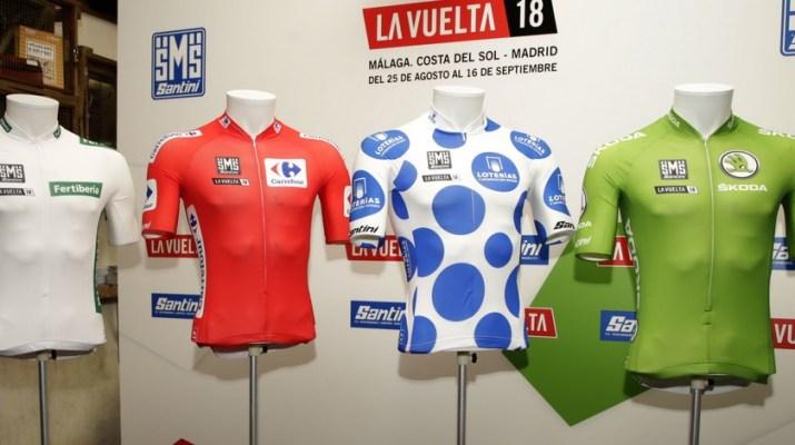 Maillots de leaders - Tour d'Espagne 2018 - ASO José Antonio Miguélez