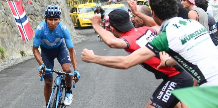 Nairo Quintana - Movistar - Attaque 17e étape Tour de France 2018