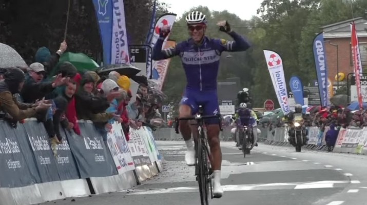 Philippe Gilbert - Quick Step - Vainqueur GP Isbergues 2018