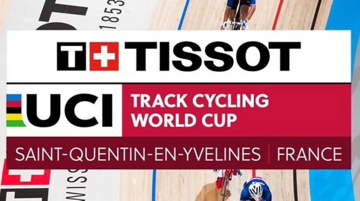 Logo - Coupe du monde de cyclisme sur piste - Saint-Quentin-en-Yvelines 2018