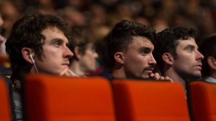 Geraint Thomas - Julian Alaphilippe - Thibaut Pinot - Présentation Tour de France 2019 - ASO Thomas Maheux
