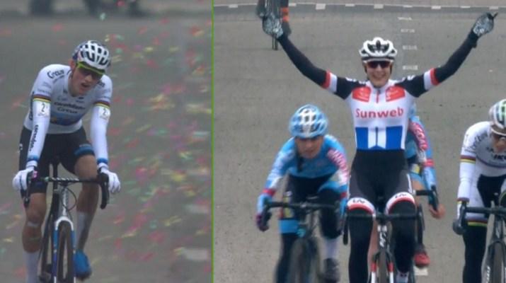 Mathieu Van der Poel - Lucinda Brand - Cyclo-cross Loenhout 2018