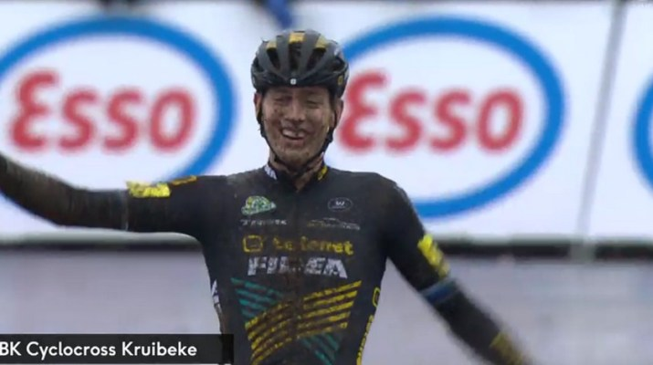Toon Aerts - Champion de Belgique de cyclo-cross 2019
