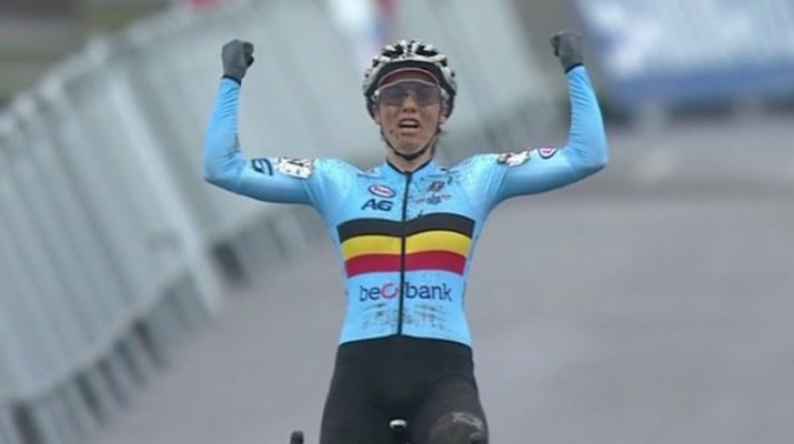 Sanne Cant - Championne du monde Cyclo-cross 2019