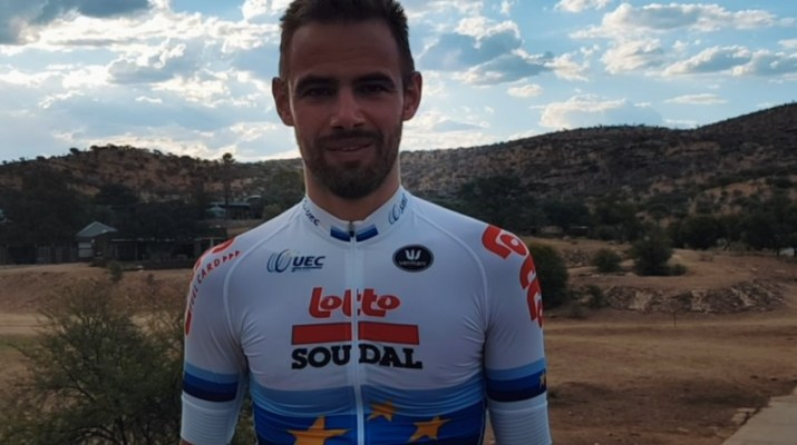 Victor Campenaerts - Champion d'Europe - Annonce Record de l'heure 2019