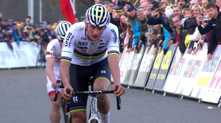 Mathieu Van der Poel - Victoire Coupe du monde cyclo-cross Tabor 2019