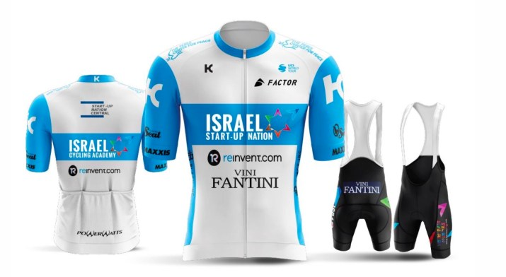 Israel Cycling Academy Start-up Nation - Maillot 2020